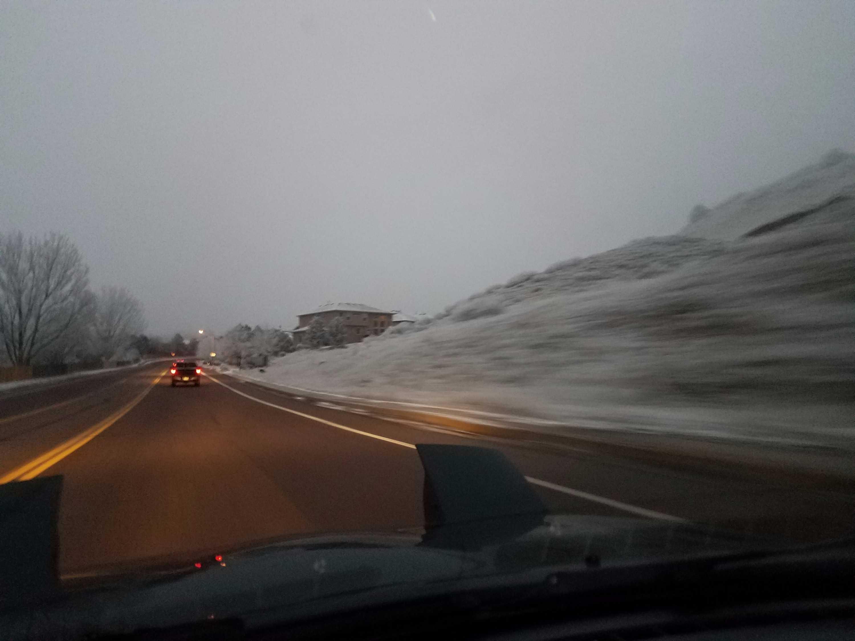 Snowy Colorado Weather