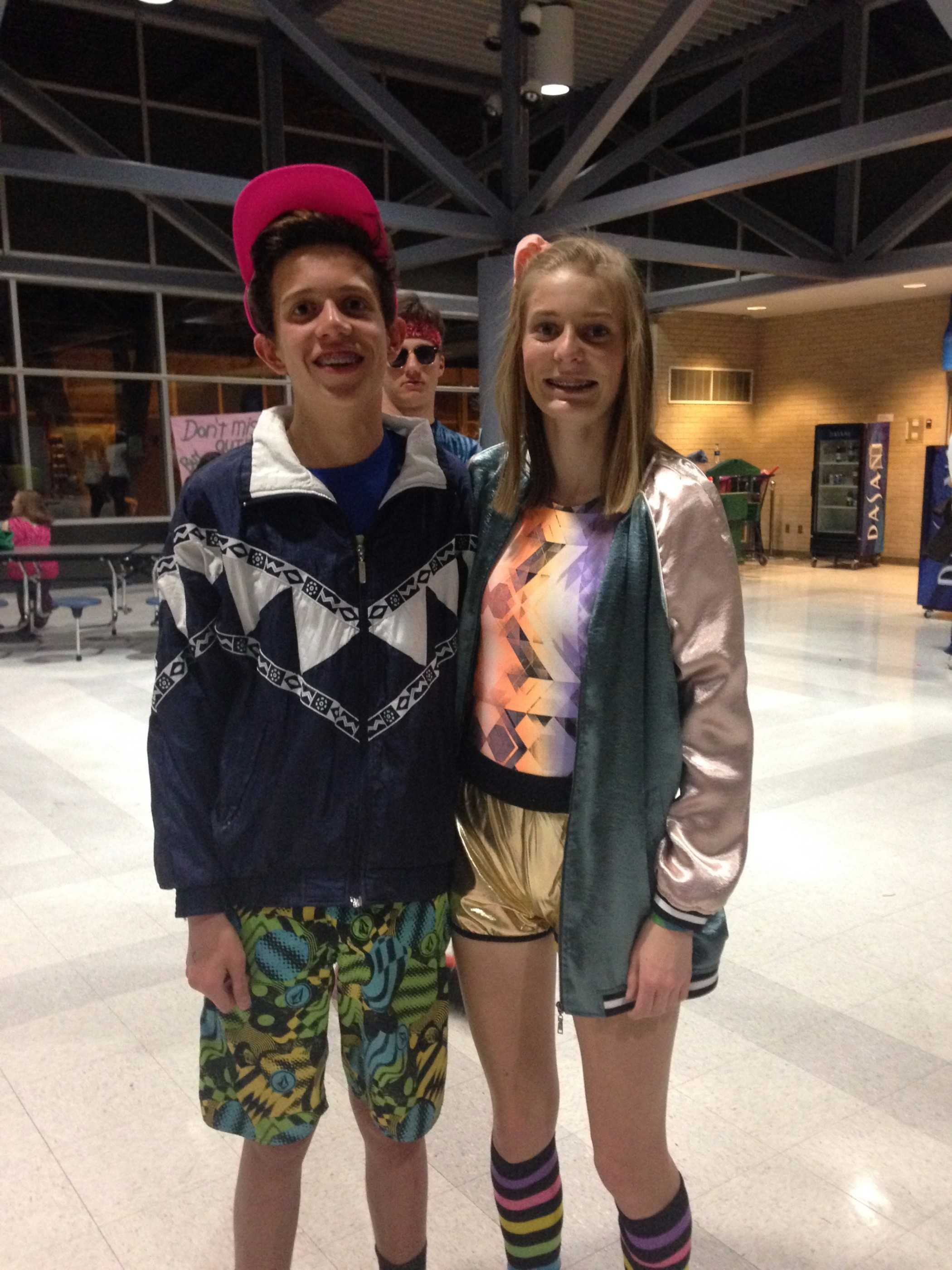 Lilly and Kendall at Morp