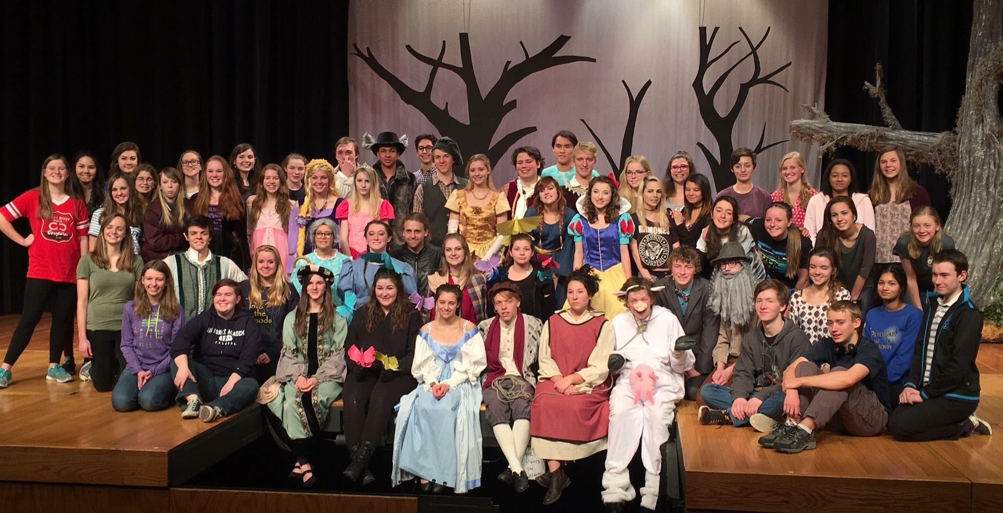 Into the Woods Cast and Crew