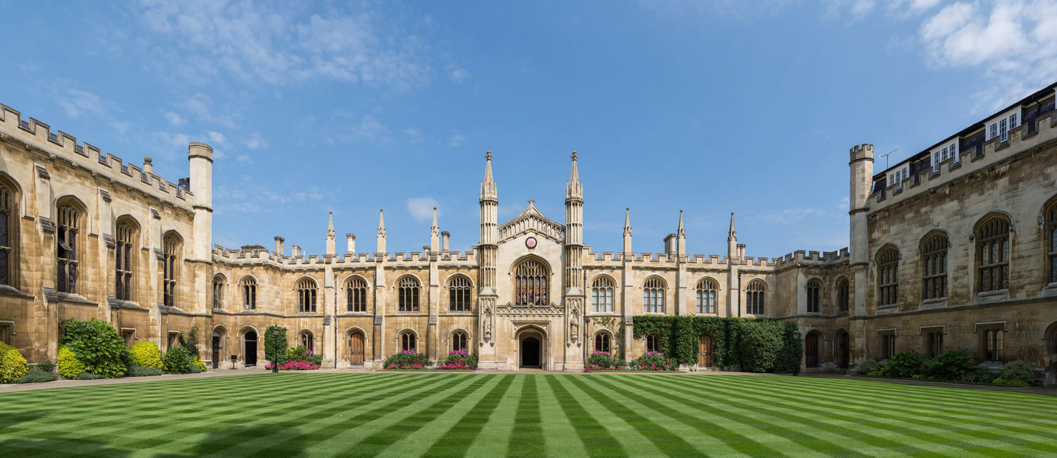 Corpus Christi College. Photo taken under the Creative Commons 3.0 License.