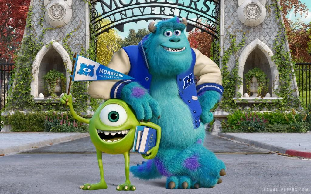 [untitled photo of Monsters University characters.]Online image. January 8, 2014. http://ascplavs.akronlibrary.org/2013/11/15/movies-main-monsters-university-november-21/