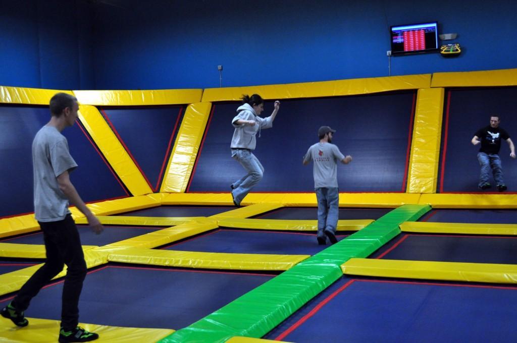 Shauna Steigerwald, Lazer Kraze in Erlanger adds trampoline arena, 12/20/2013, http://cincinnati.com/blogs/newintown/2011/12/07/lazer-kraze-in-erlanger-adds-trampoline-arena/