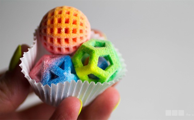 Streams, Kimber. Colorful Geometric Sugar Candies Made with a ChefJet 3D Printer by 3D Systems. Laughing Squid. Word Press, 13 Jan. 2014. Web. 02 Mar. 2014. .