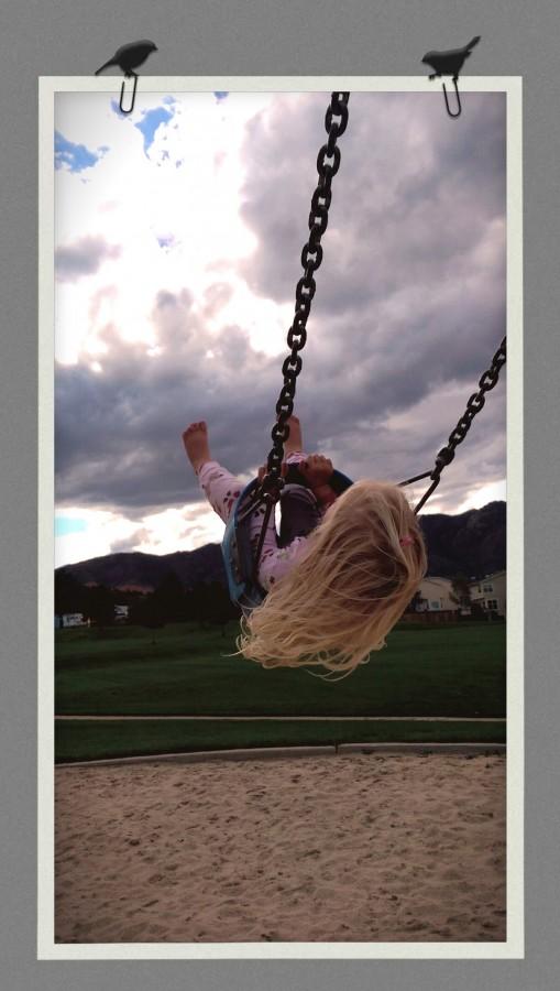 Flying high. Original photo by Jenny Beth Maynard.