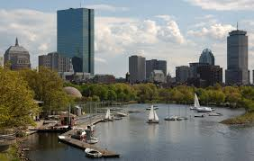 [Boston- Back Bay]  Photo via Wikimedia Commons under the Creative Commons license. [http://en.wikipedia.org/wiki/List_of_tallest_buildings_in_Boston]