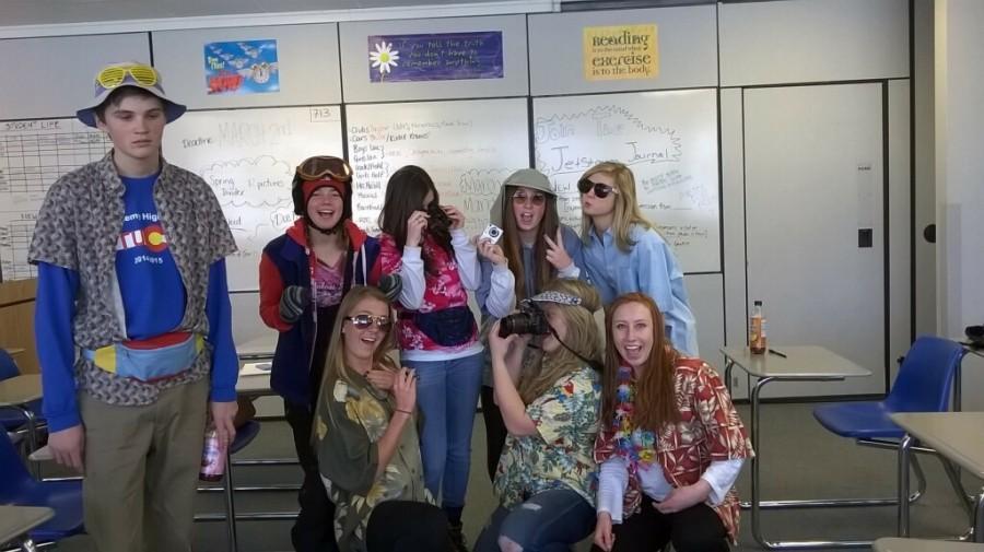 [Tacky Tourist Tuesday] Original photo of the Journalism crew.