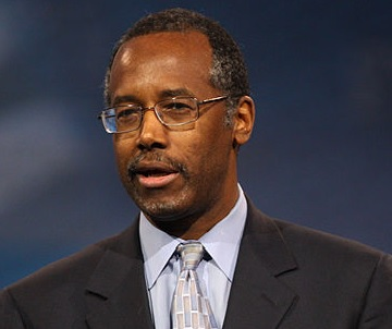 Our (Maybe Soon to Be) Fearless Leader. Photo via Wikimedia Commons under the Creative Commons License. (https://commons.wikimedia.org/wiki/Category:Ben_Carson#/media/File:Carson_CPAC.jpg)