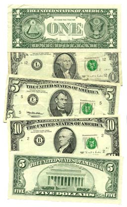 The Root of all Evil. Photo via Wikimedia Commons under the Creative Commons License (https://commons.wikimedia.org/wiki/Money#/media/File:USCurrency_Federal_Reserve.jpg)