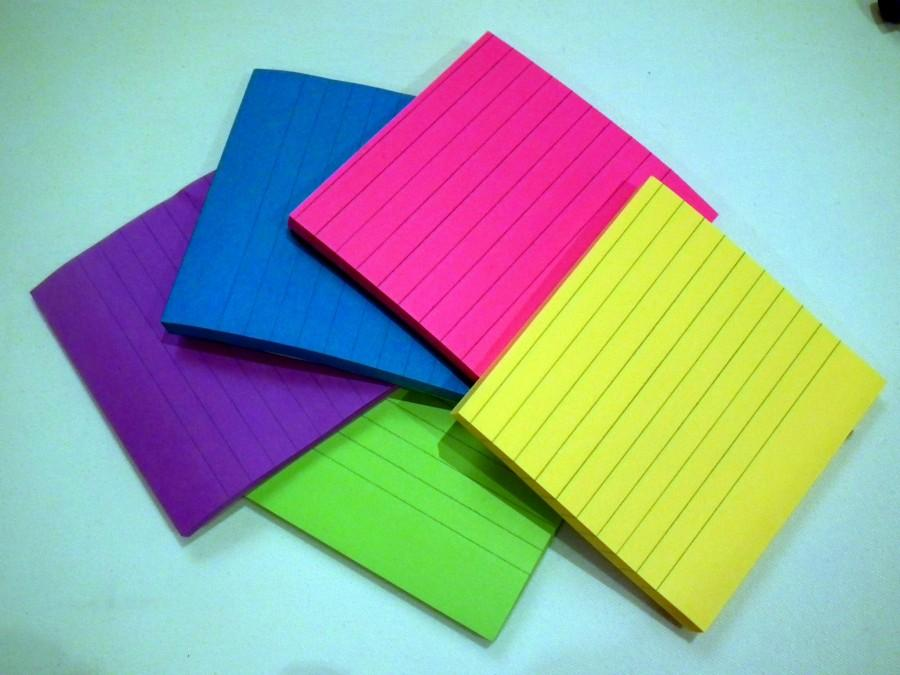 Sticky Notes. Photo via Wikimedia Commons under the Creative Commons License