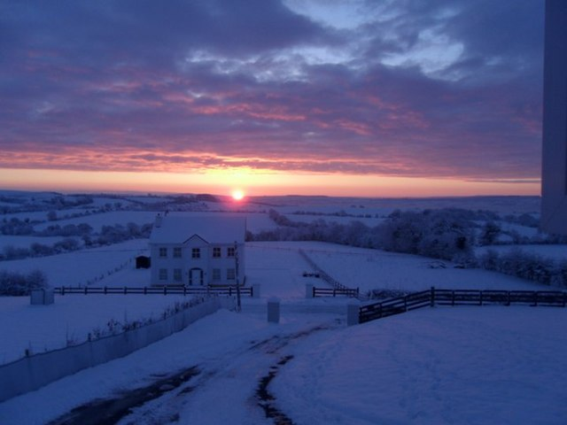 The Winter Solstice and the Sun. Photo used via geograph.ie under the Creative Commons license. http://www.geograph.ie/photo/2222434.