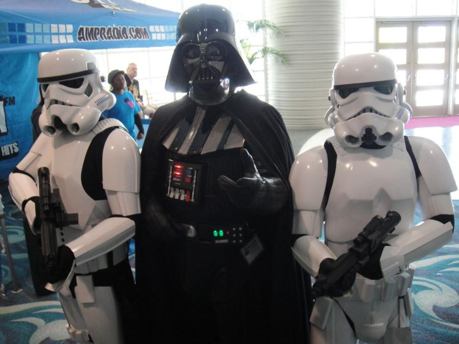 Photo via Wikimedia Commons under the Creative Commons License [https://upload.wikimedia.org/wikipedia/commons/c/c8/Long_Beach_Comic_Expo_2011_-_Darth_Vader_and_his_stormtroopers_(5648076179).jpg]