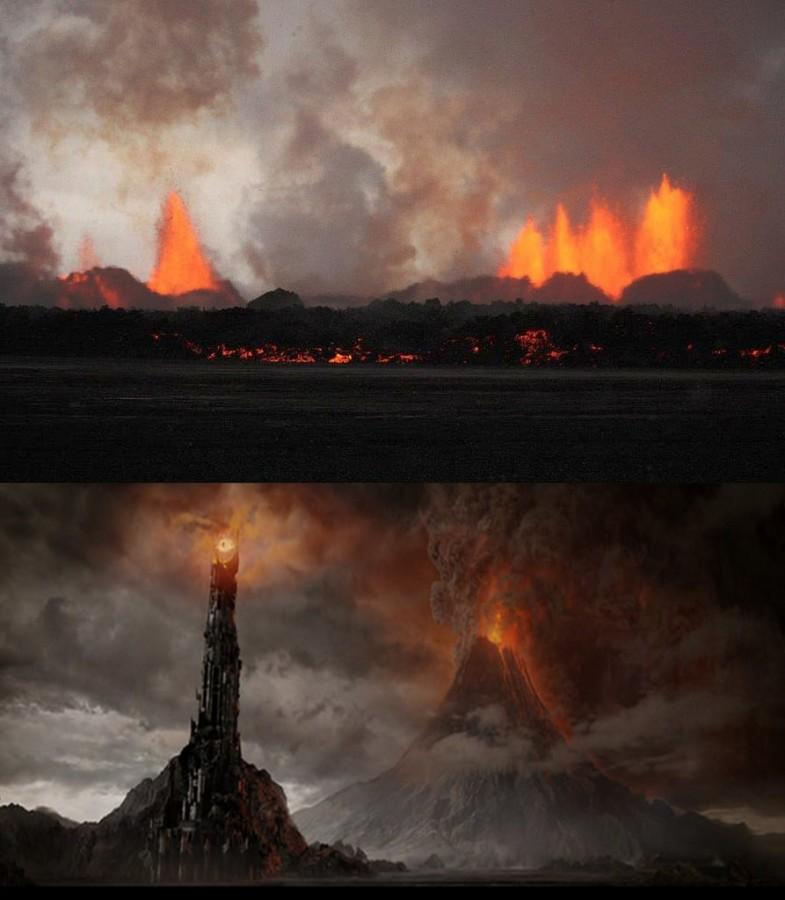 The fictional place, Mordor.  Photo via flickr.com under the Creative Commons license.