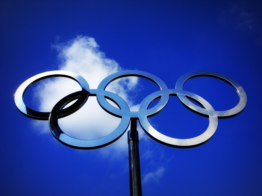 [Olympic Rings] Photo accessed via the Creative Commons License on January 31, 2016.