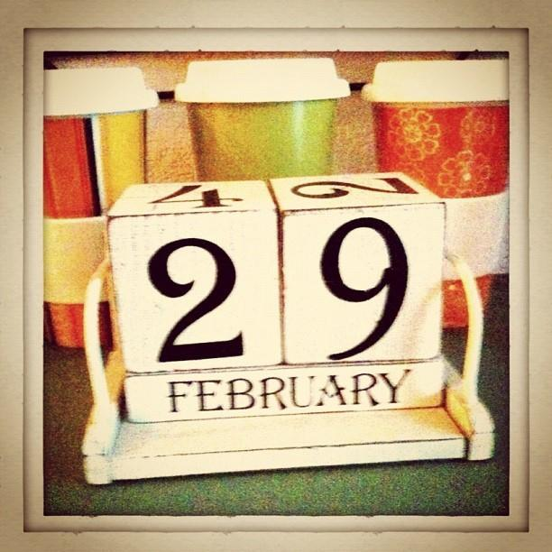 Celebrate the leap year in 2016. Photo via flickr.com under the Creative Commons license. https://www.flickr.com/photos/suendercafe/6941215505