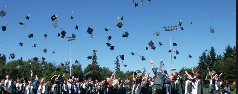 [Graduation day: The worst day of underclassmens lives.] Photo Via Flicker Under the Creative Commons License.