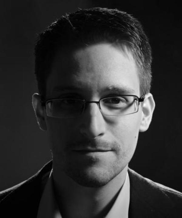 Photo via Wikimedia Commons under the creative Commons license. https://commons.wikimedia.org/wiki/File: Edward-Snowden-FOPF-2014.jpg