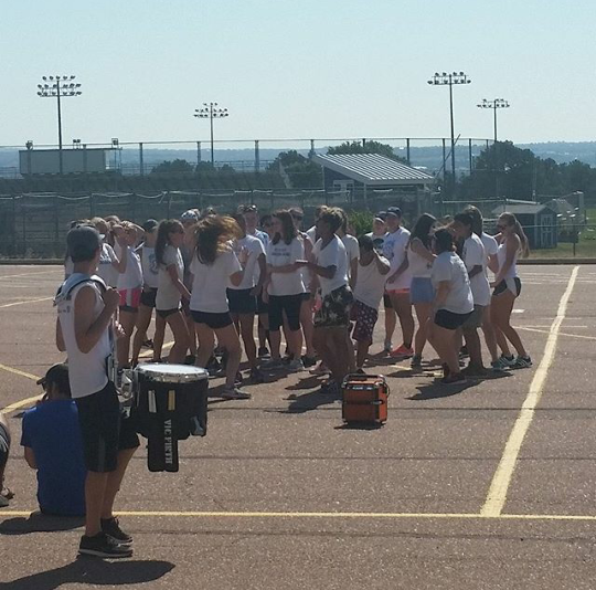 Air Academy's band practice