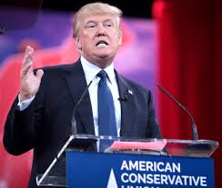 Photo via Wikipedia under the Creative Commons license https://en.wikipedia.org/wiki/Political_ positions_of_Donald_Trump