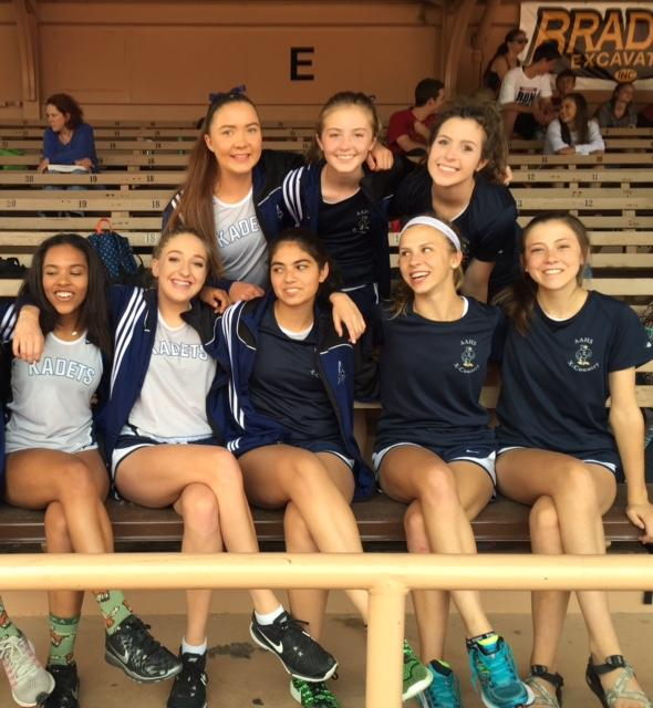 Cross country girls happy after Kadet win