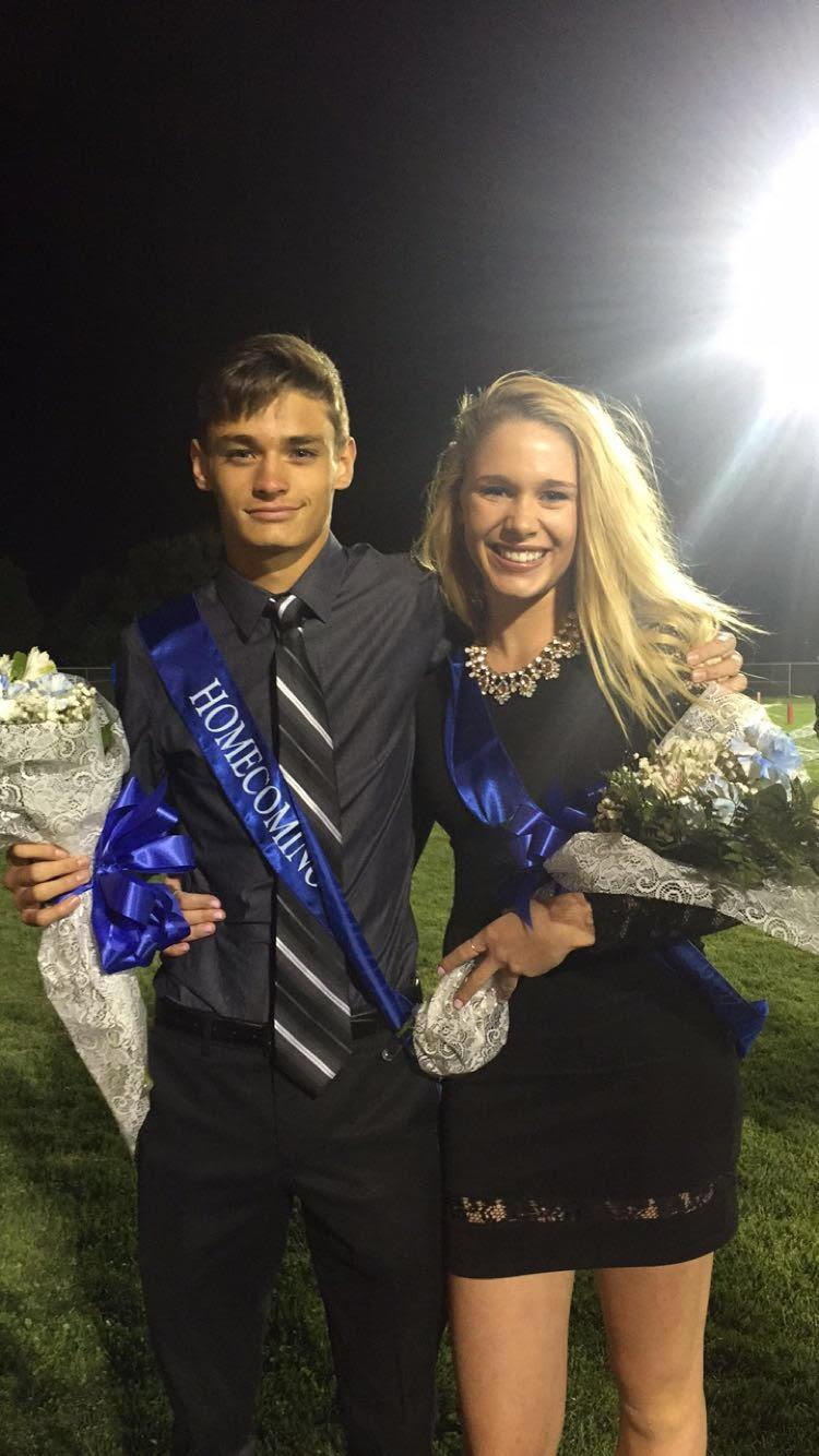 Luke Louthan and Madi Miller are Homecoming favorites