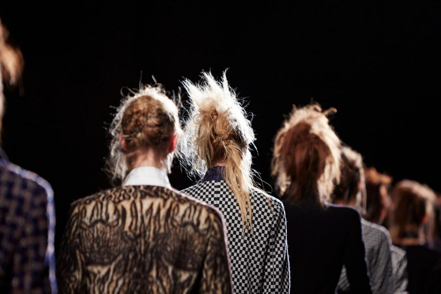 Backstage at Paris Fashion Week f/w 2015 via Wikimedia commons under the creative commons license https://commons.wikimedia.org/wiki/File:Haider_Ackermann_backstage_at_the_Paris_Fashion_Week_Fall-Winter_2015_(4).jpg