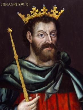 King John, an original monarch. Photo Via Wikimedia Commons under the Creative Commons License. https://commons.wikimedia.org/wiki/File:King_John_from_NPG.jpg