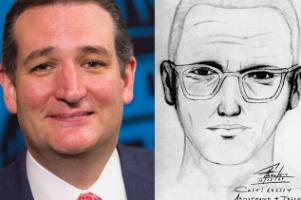 Is Ted Cruz really the Zodiac Killer? Photo Via Wikimedia Commons ( https://commons.wikimedia.org/wiki/File:Tedcruzzodiac.jpg )