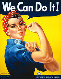 We can do it! Photo via Wikipedia under the commons Creative Licence. https://en.wikipedia.org/wiki/Rosie_the_Riveter