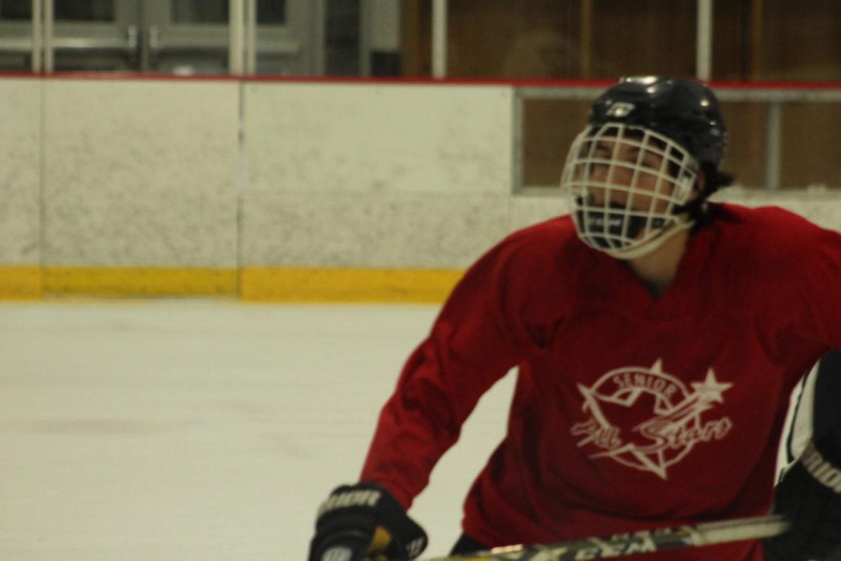 Aaron Ortiz practicing for his club team. Original Photo by Ben Ortiz