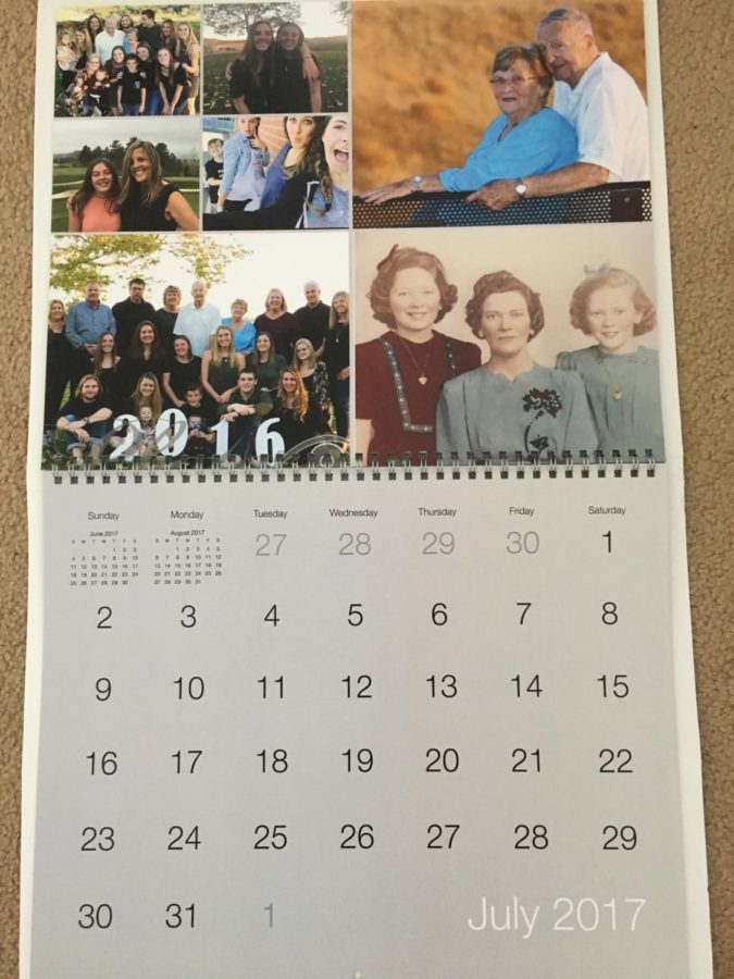 A homemade calendar is the perfect thoughtful gift for your loved ones! (original photo by Reagan Gatlin)