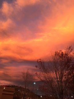 Colorado Springs looking incredible.