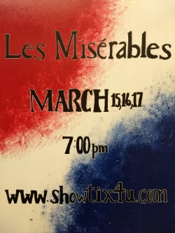 Come see Les Mis!