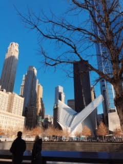 9/11 Memorial Fountain.