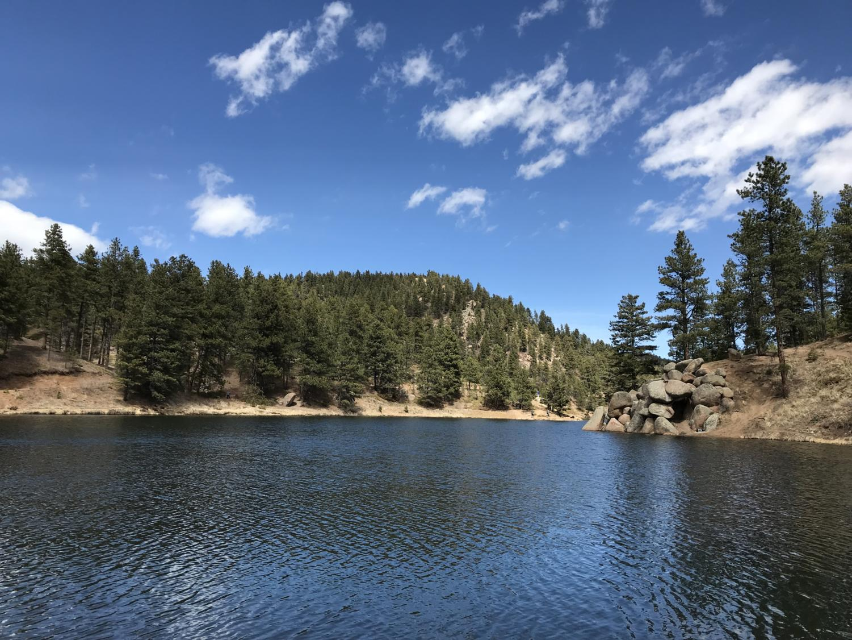 Hiking in Palmer Lake.