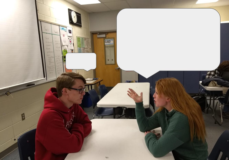 Myth or Fact: Women speak more than men? Original photo by Jonathan Flat.