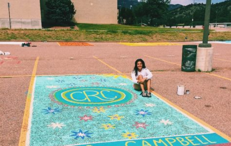 Seniors Start New Tradition by Painting Their Own Parking Spots