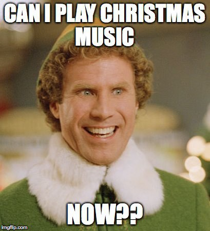christmas music before thanksgiving helps make the holiday season last longer image courtesy of me