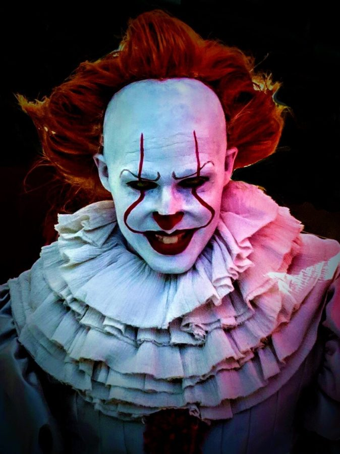 Pennywise+cosplay+at+2017+Montreal+Comiccon.