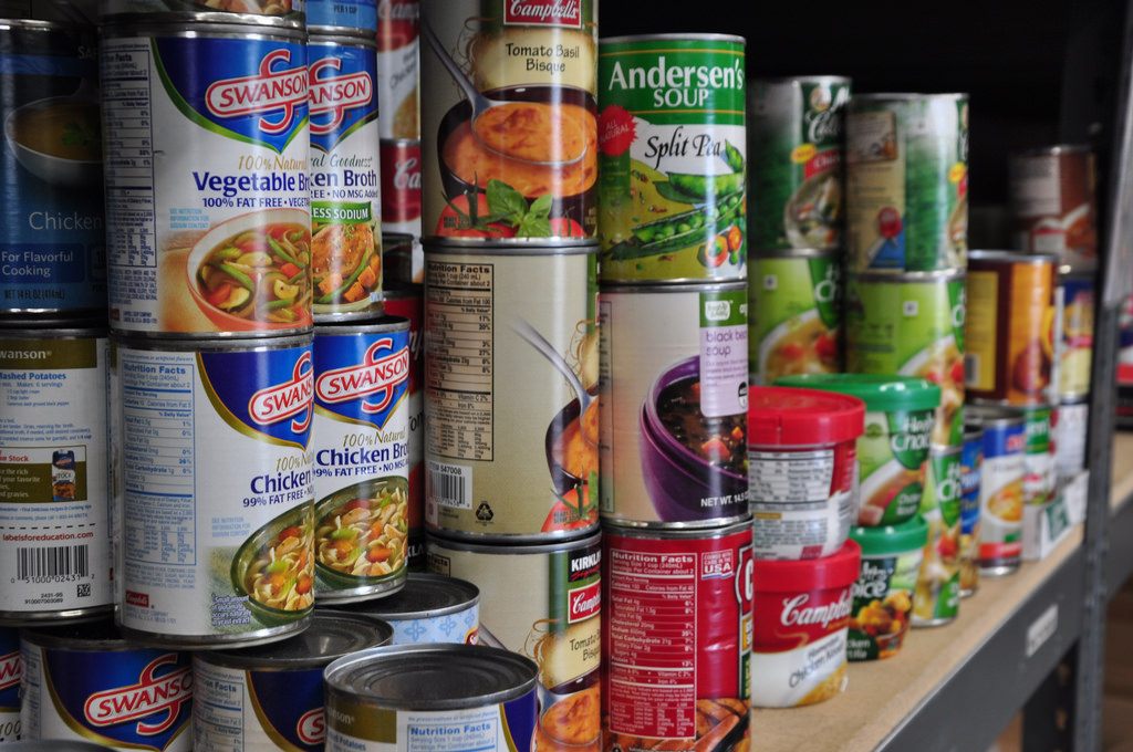 These are the type of non-perishable food items that The Harvest of Love program is looking for.  Image labeled for reuse by Flickr.(www.flickr.com/photos/tsausawest/8508069576)