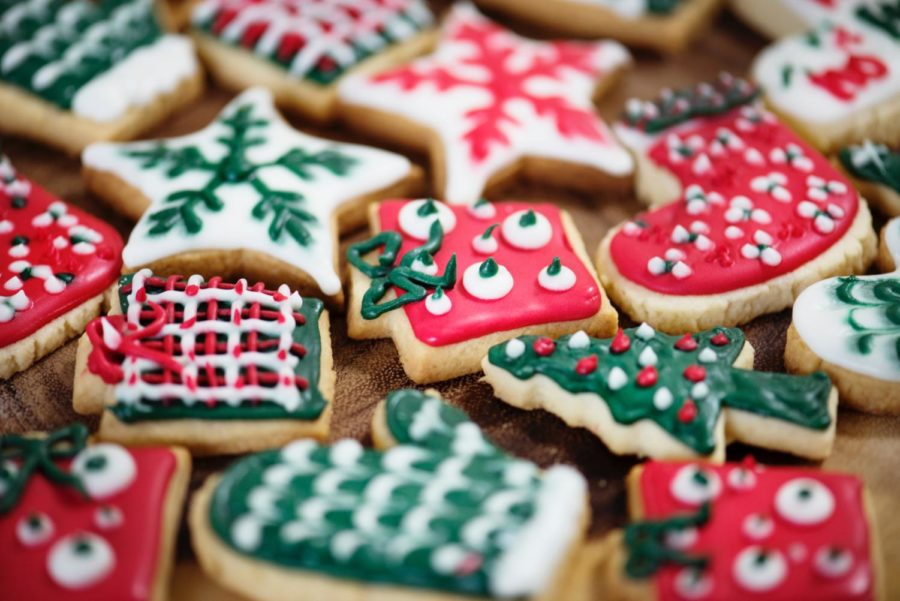 Great+tasting+sugar+cookies+decorated+for+the+Christmas+holiday.+Image+labeled+for+reuse+from+Pexels.