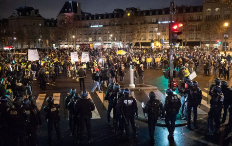 Taken on 1/26/19 - the 11th weekend of the riots in France. The