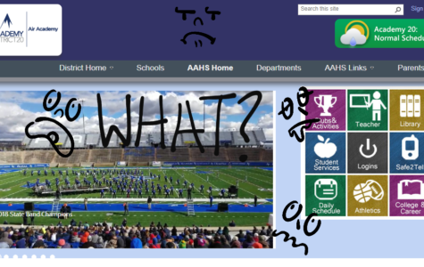Air Academy High School's Website Is a Mess–But It Won't Be Forever