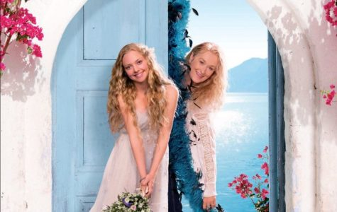 Mamma Mia poster from the movie version of the show. Labeled for reuse by flicker.com.
