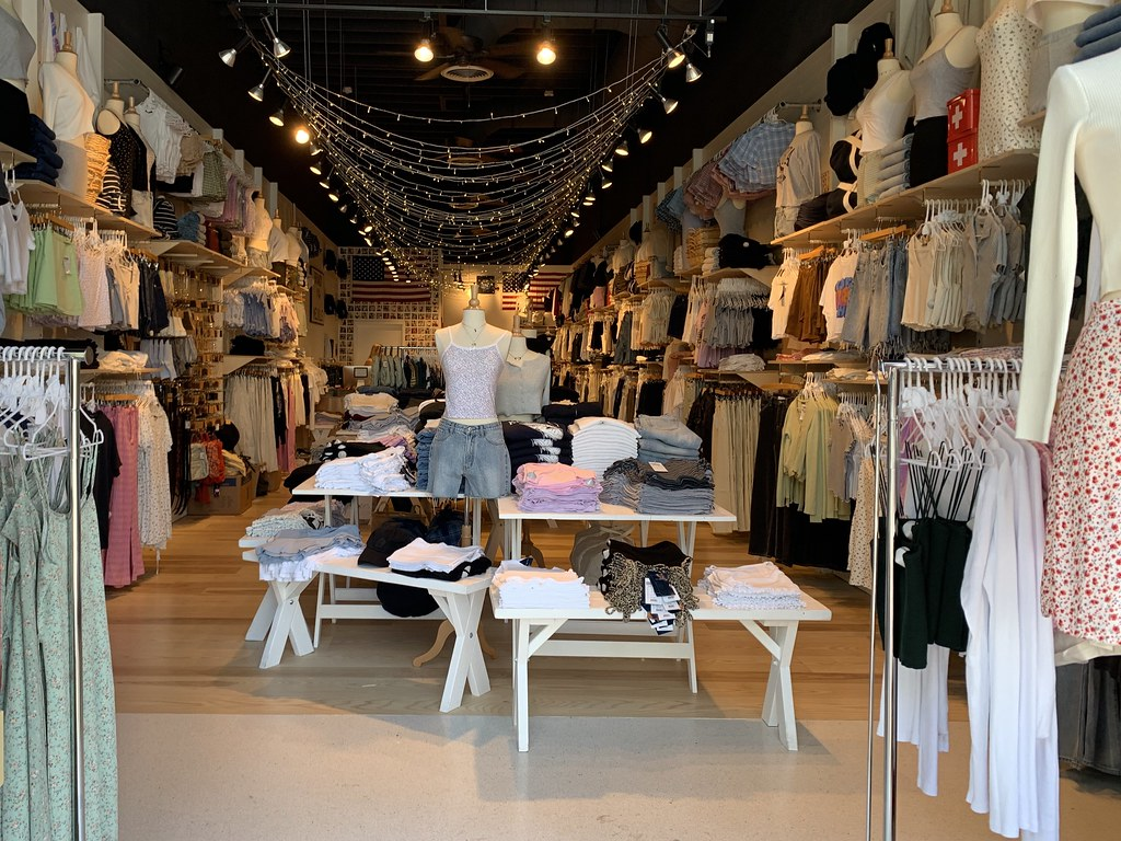 Brandy Melville has several stores across the world; this one is in Miami Beach, Florida.