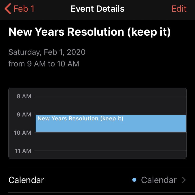 Who is still keeping New Years resolutions after a month?