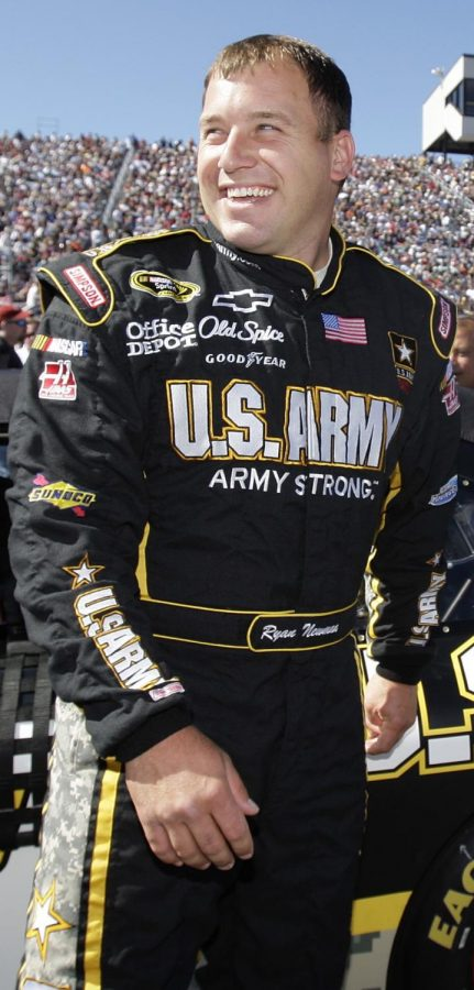 Ryan Newman's competitive, friendly nature has been on display since his career began in NASCAR. Labeled for reuse by Wikimedia Commons.