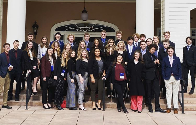 DECA students stand proud after take second at State.