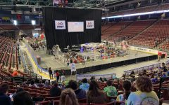 662 robotics students spectate an exhilarating match.