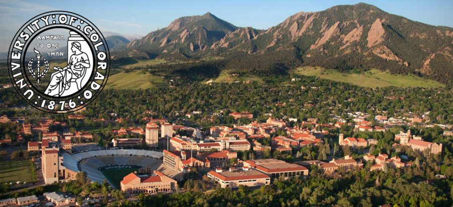 Landscapes such as the University of Colorado Boulder campus are available to AAHS students looking to attend a four-year college. Labeled for reuse by Wikimedia Commons