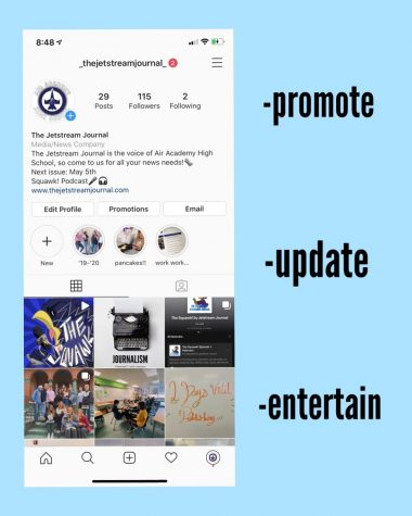 A screenshot of the Jetstream Journal Instagram with some pointers to keep in mind.